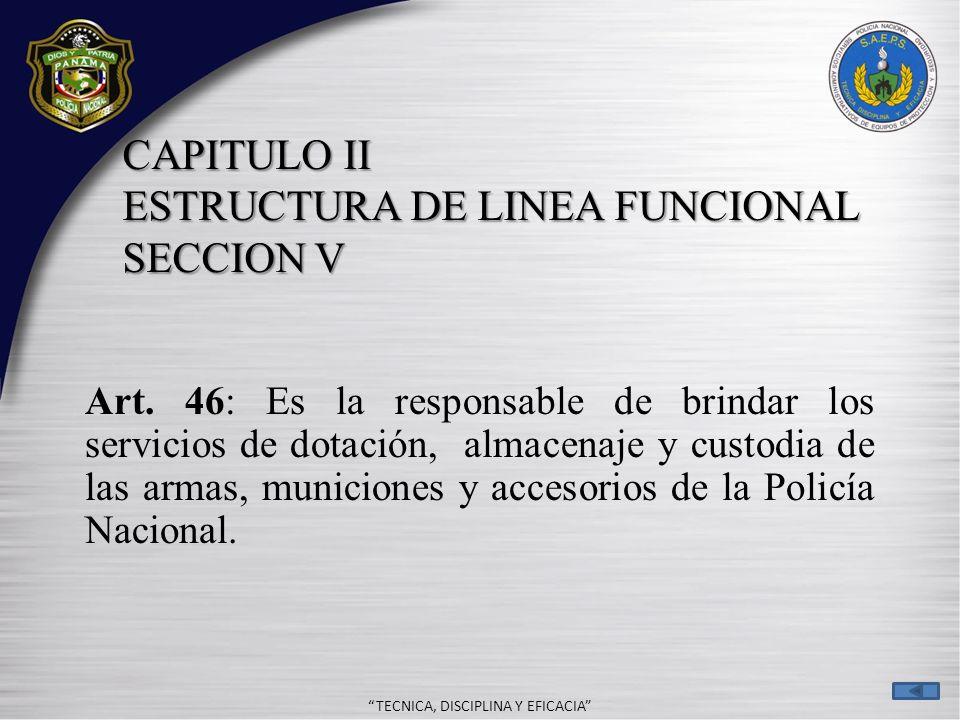 - TECNICA, DISCIPLINA Y EFICACIA ORGANIZACIÓN Y PROCEDIMIENTOS EN EL MANEJO DE ARMAS ARMAS ILEGALES LEGALES