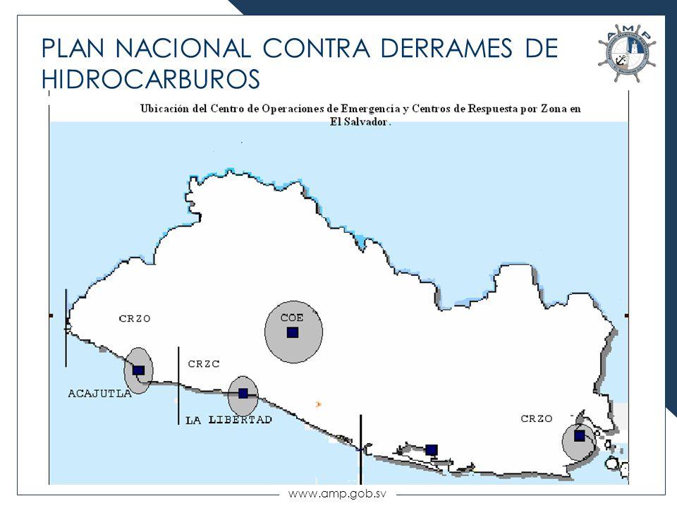 www.amp.gob.sv PLAN NACIONAL CONTRA DERRAMES DE HIDROCARBUROS
