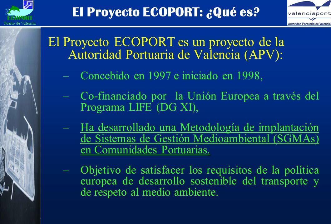 El Proyecto ECOPORT: ¿Qué es.