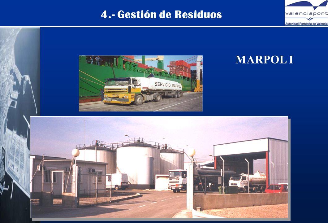 4.- Gestión de Residuos MARPOL I