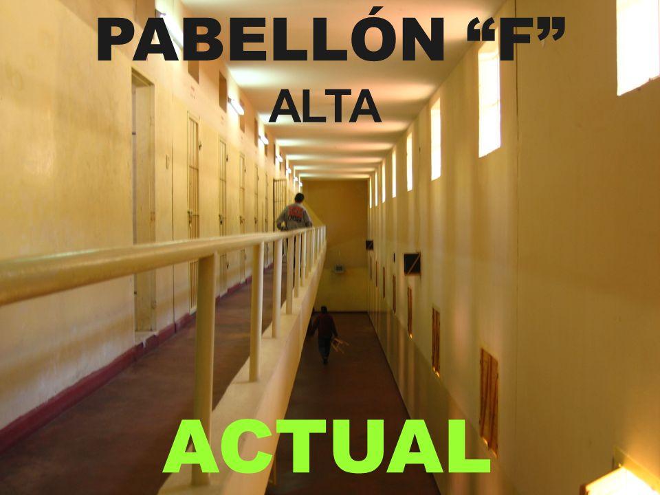 ACTUAL PABELLÓN F ALTA