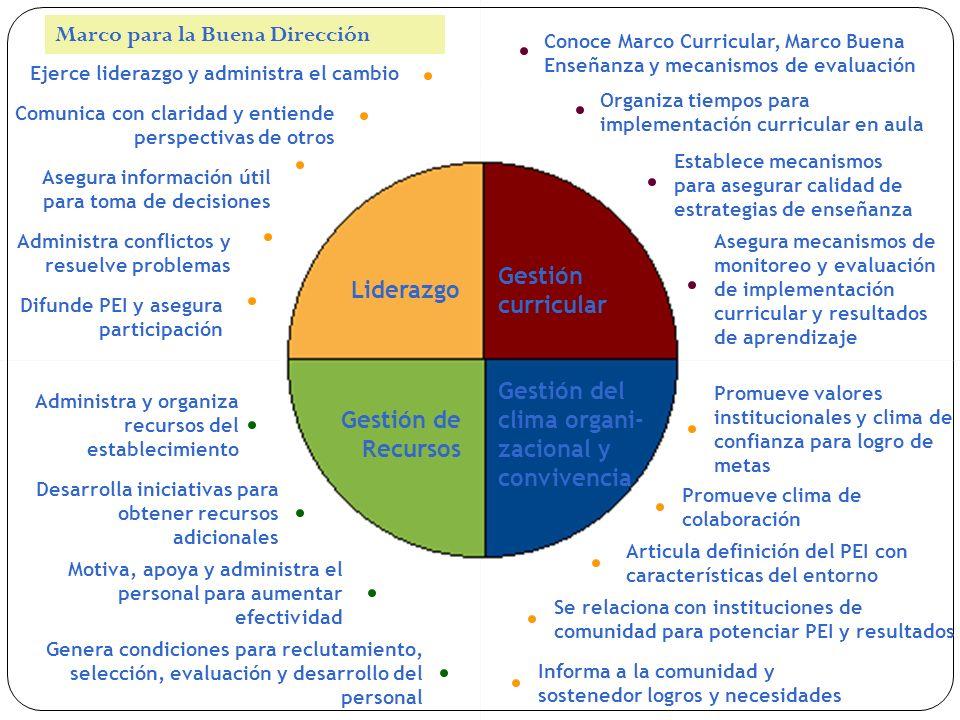 Ejerce liderazgo y administra el cambio Comunica con claridad y entiende perspectivas de otros Asegura información útil para toma de decisiones Admini