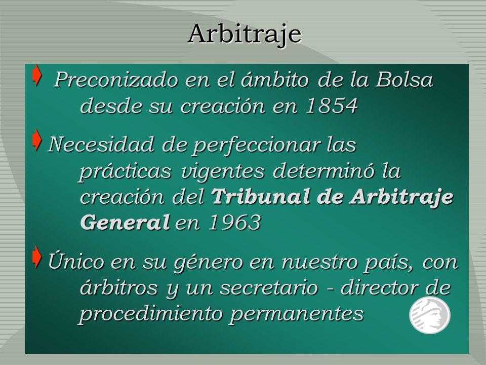 Preconizado en el ámbito de la Bolsa desde su creación en 1854 Preconizado en el ámbito de la Bolsa desde su creación en 1854 Necesidad de perfecciona