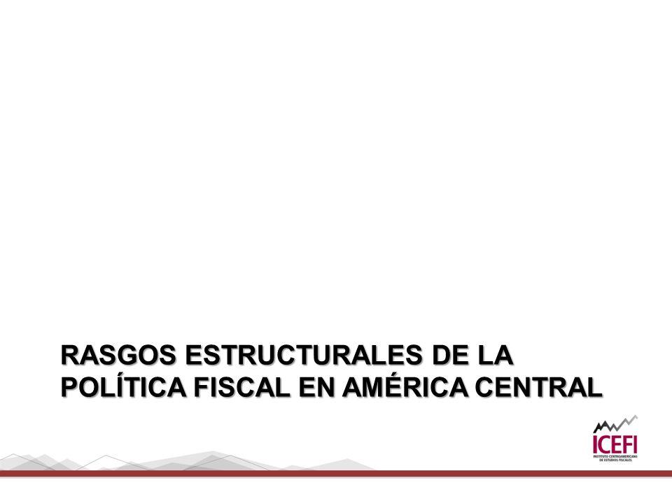 RASGOS ESTRUCTURALES DE LA POLÍTICA FISCAL EN AMÉRICA CENTRAL