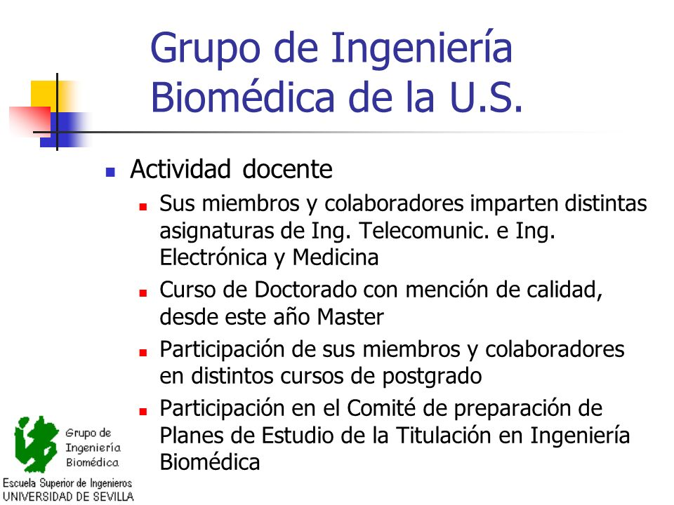 Grupo de Ingeniería Biomédica de la U.S.