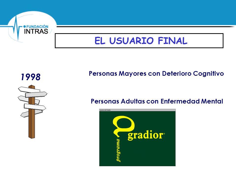 Personas Mayores con Deterioro Cognitivo Personas Adultas con Enfermedad Mental 1998