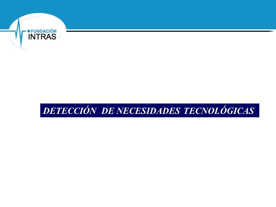DETECCIÓN DE NECESIDADES TECNOLÓGICAS