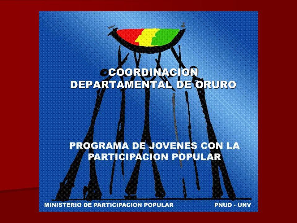 COORDINACION DEPARTAMENTAL DE ORURO