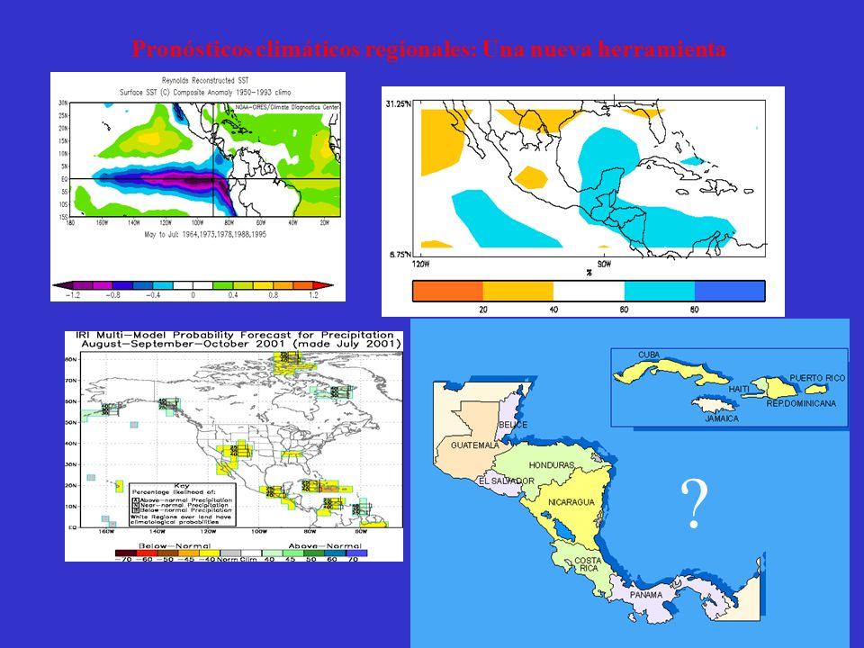 ? Pronósticos climáticos regionales: Una nueva herramienta