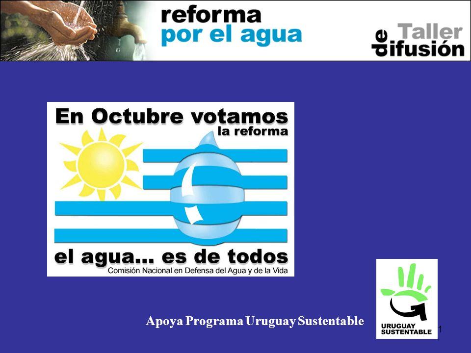 1 Apoya Programa Uruguay Sustentable