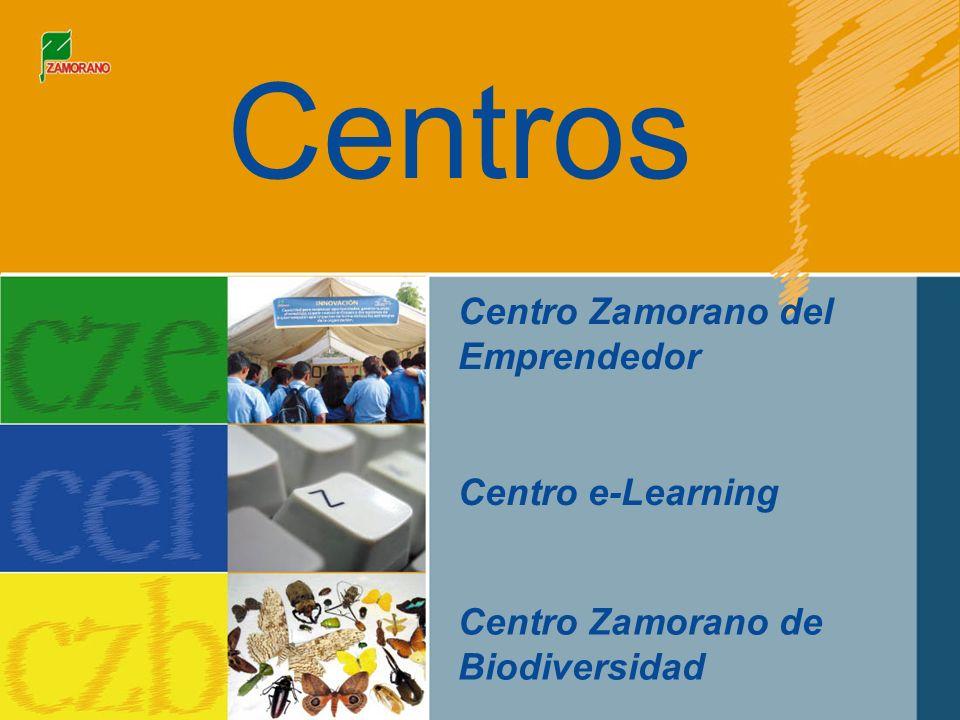 Centro Zamorano del Emprendedor Centro e-Learning Centro Zamorano de Biodiversidad Centros