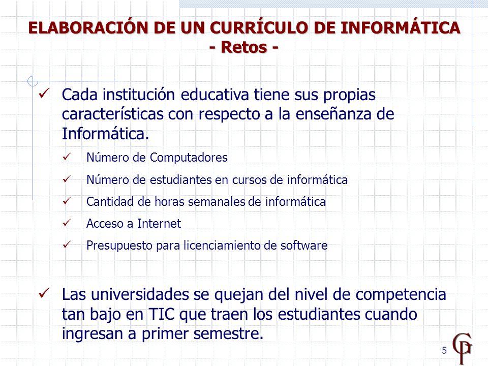 6 Fuente: Carmen Lizcano de Guerrero, Universidad Santo Tomás, Bogotá.