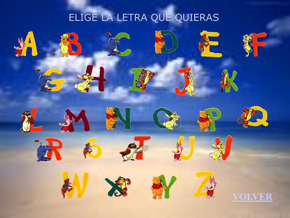 VOLVER EJERCICIOS Busca la palabra correcta Completa las palabras