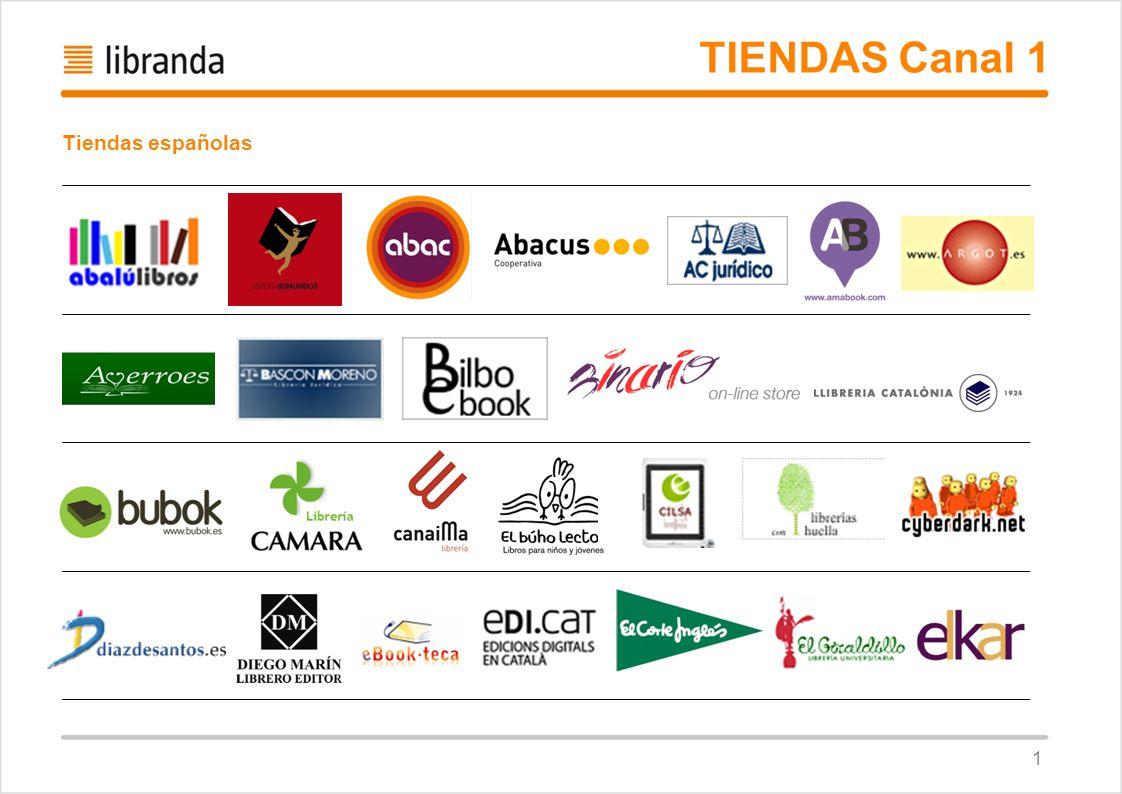 TIENDAS Canal 1 Tiendas españolas 1