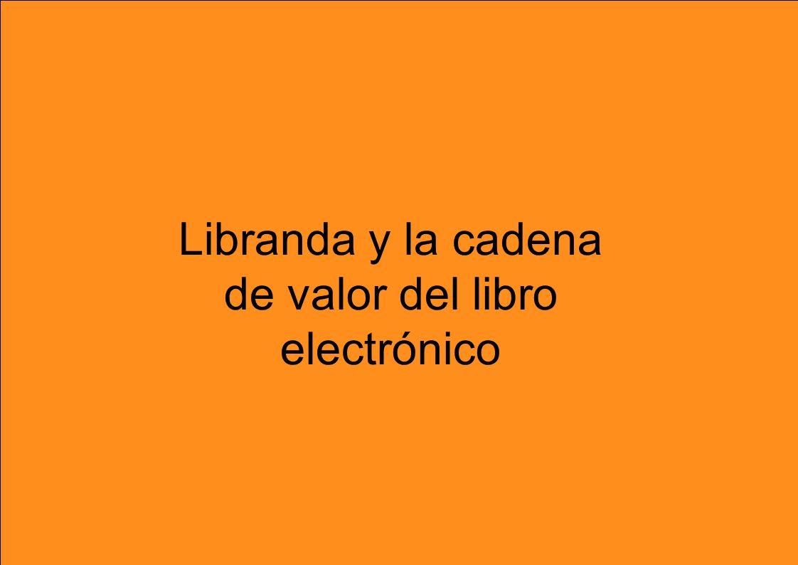 7 Libranda y la cadena de valor del libro electrónico