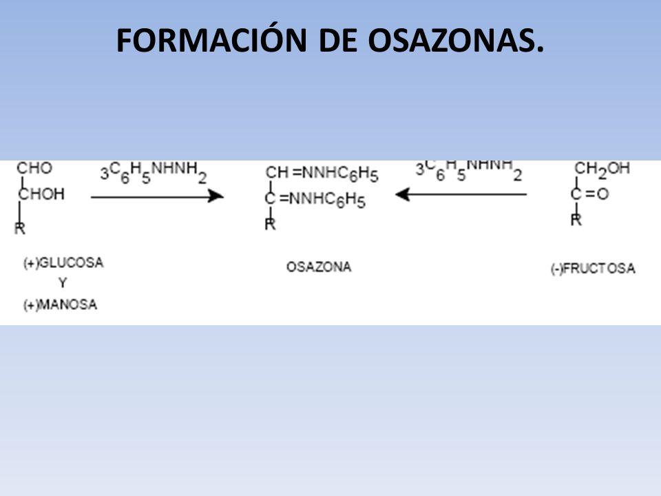 FORMACIÓN DE OSAZONAS.