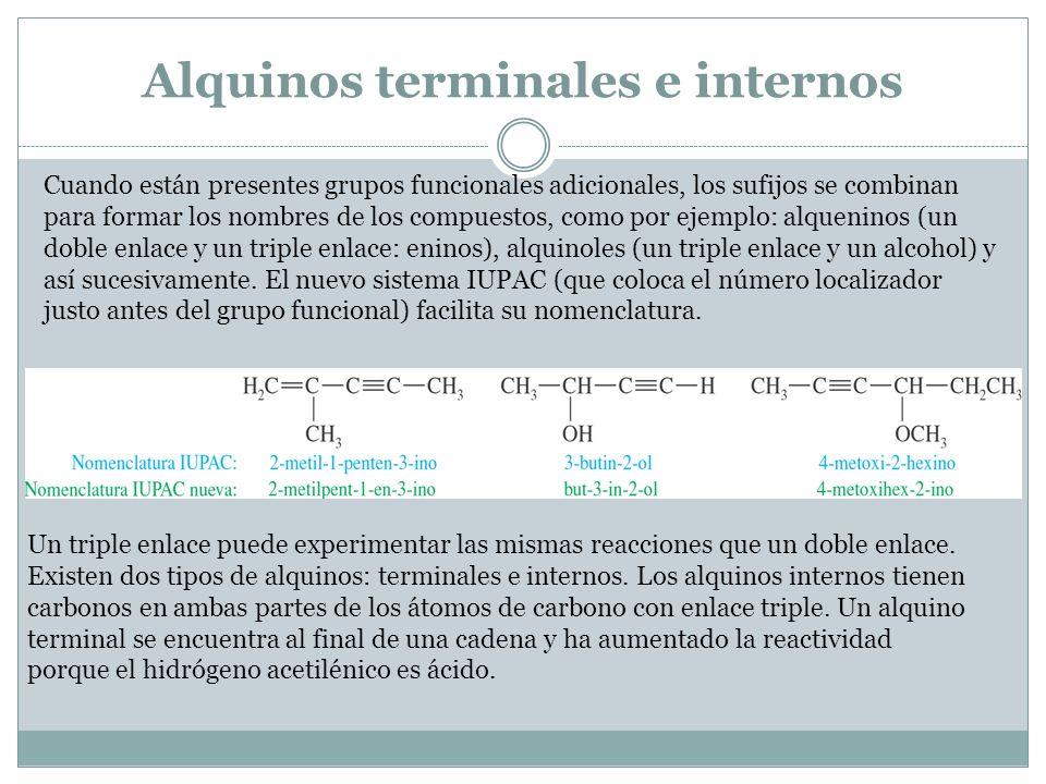 Estructura molecular del acetileno Cada átomo de carbono está enlazado a otros dos átomos y no hay electrones de valencia no enlazantes.