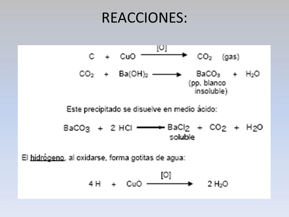 2.- IDENTIFICACIÓN DE NITRÓGENO, AZUFRE Y HALÓGENOS.