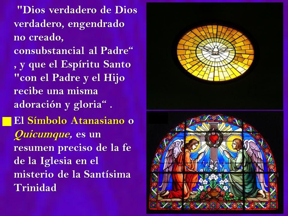 Es el misterio central de la fe y de la vida cristiana.