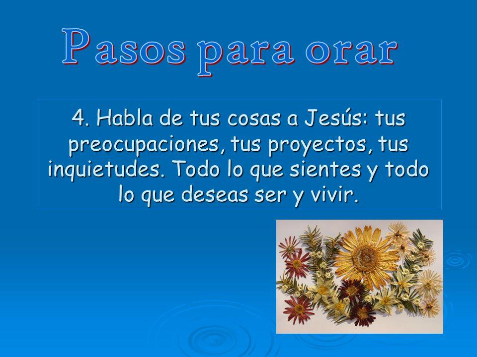 5.Puedes elegir un texto del Evangelio.