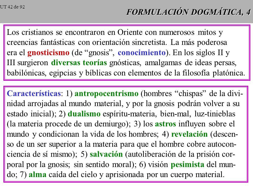 FORMULACIÓN DOGMÁTICA, 3 Fe trinitaria de los primeros cristianos, 2 San Ignacio de Antioquía (+ 107), Carta a los Efesios Efesios: Sois piedras del t