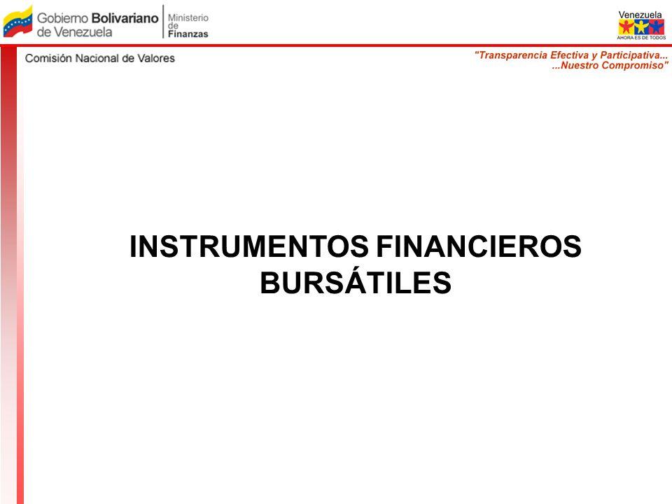 INSTRUMENTOS FINANCIEROS BURSÁTILES