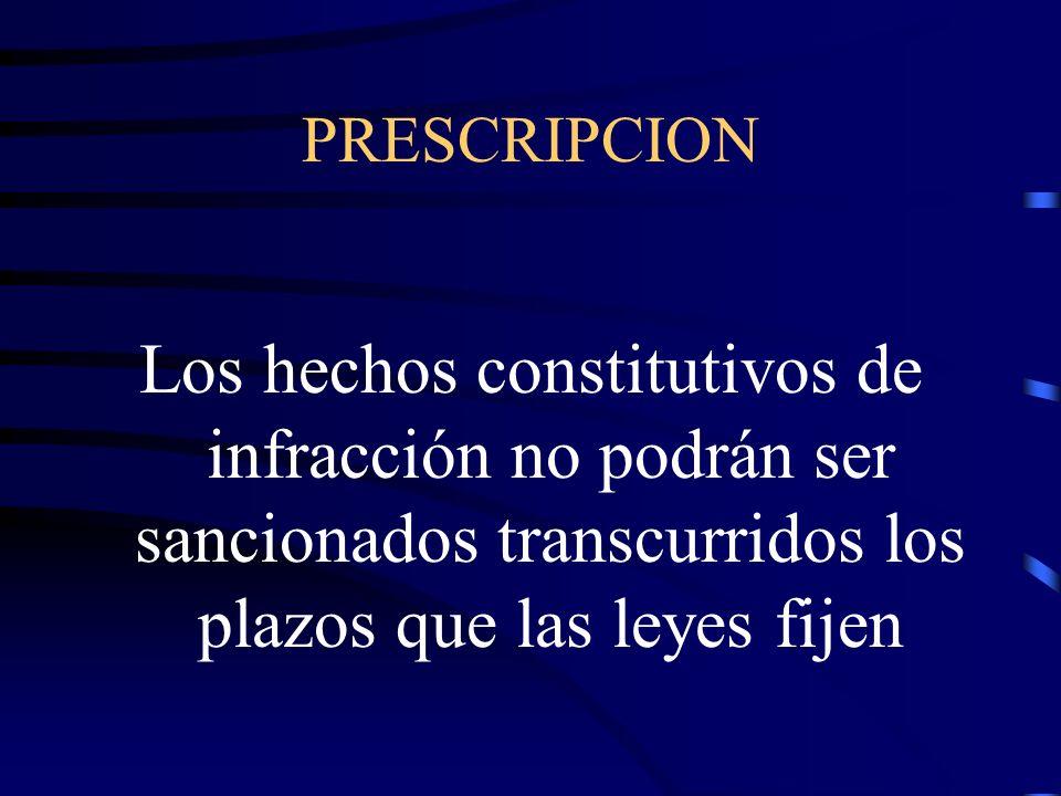CONCURRENCIA DE SANCIONES.