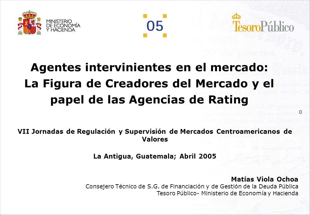 10 Creadores de Mercado: Nacimiento y regulación actual Obligaciones en el mercado primario: PASO2º: CÓMO ES Letras del Tesoro Participación en las subastas.