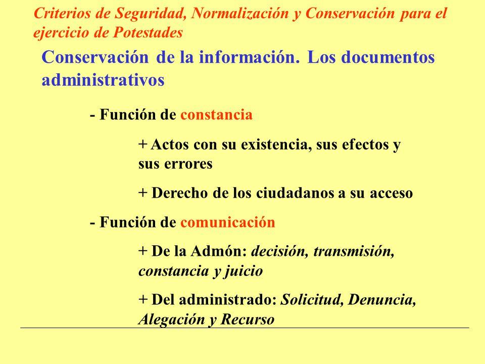 Conservación de la información.