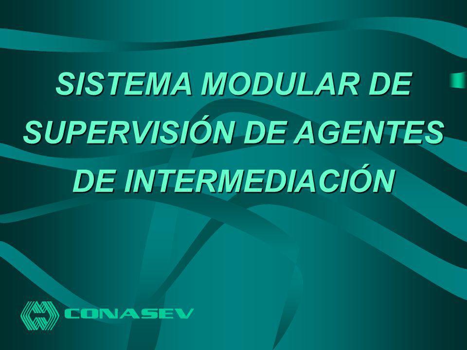 SISTEMA MODULAR DE SUPERVISIÓN DE AGENTES DE INTERMEDIACIÓN