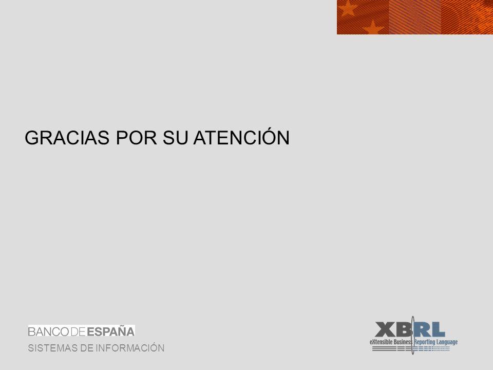 SISTEMAS DE INFORMACIÓN GRACIAS POR SU ATENCIÓN
