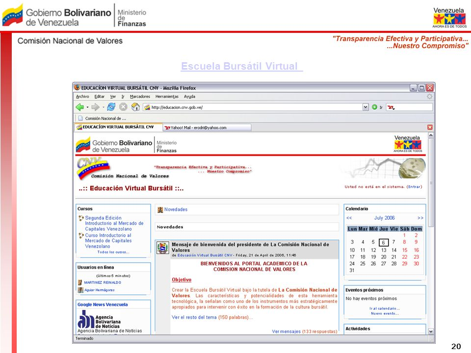 Escuela Bursátil Virtual 20