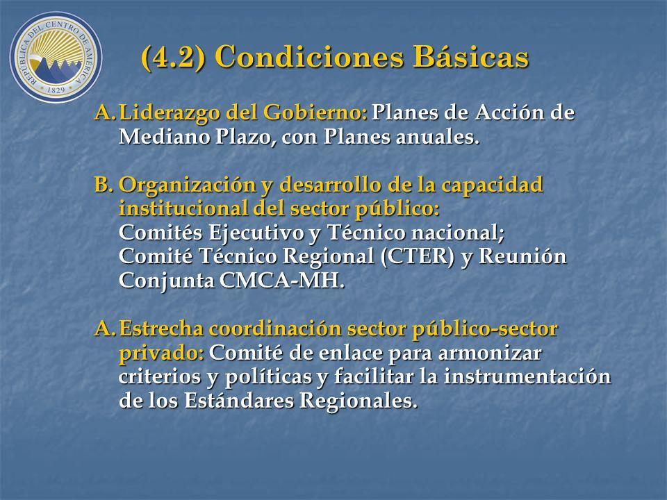 (4.1) Productos del Programa A.Estándares Regionales: guía para toma de decisiones sobre mercado de deuda pública, aprobados mediante Resolución CMCA-