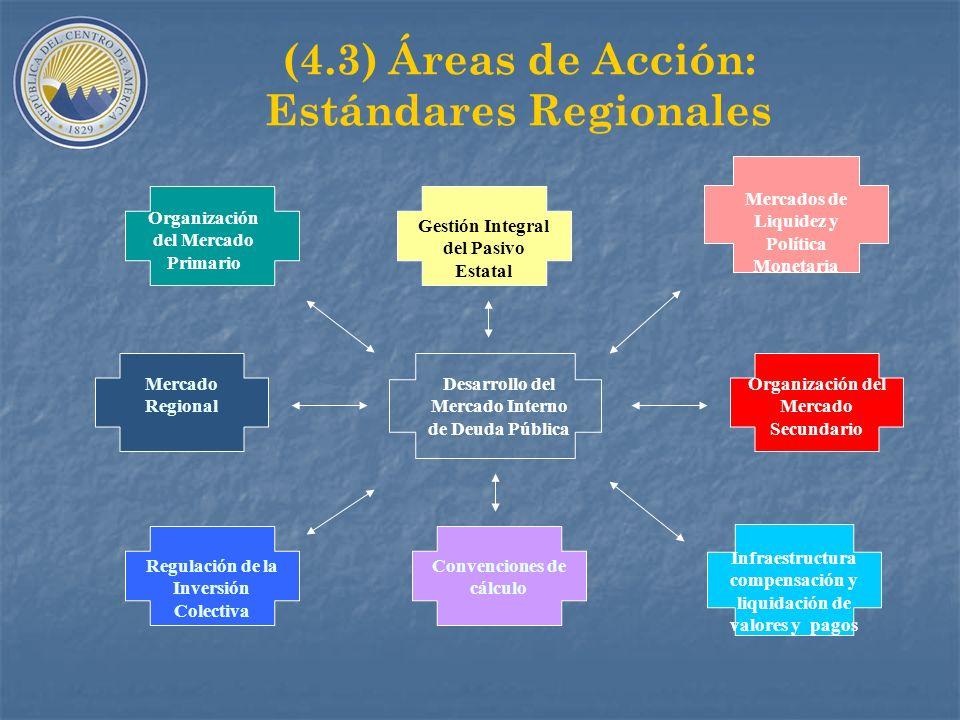 (4.2) Condiciones Básicas A.Liderazgo del Gobierno: Planes de Acción de Mediano Plazo, con Planes anuales. B.Organización y desarrollo de la capacidad