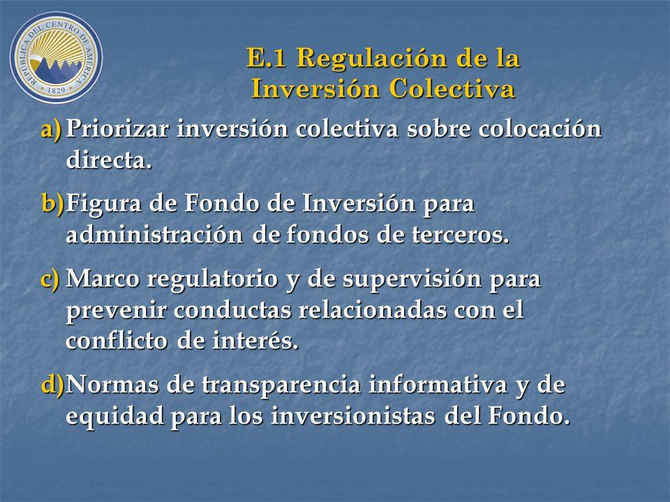 D. Organización del Mercado Secundario Mayorista a)Objetivo: Darle liquidez a las inversiones en valores; soporte a la Política Monetaria (OMAs); y a