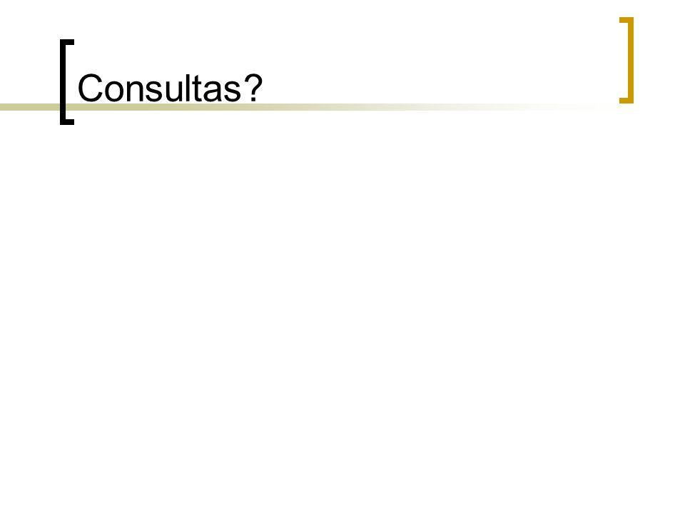 Consultas?