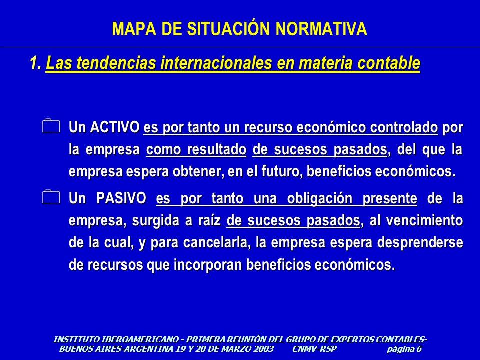 0 Un ACTIVO es por tanto un recurso económico controlado por la empresa como resultado de sucesos pasados, del que la empresa espera obtener, en el fu