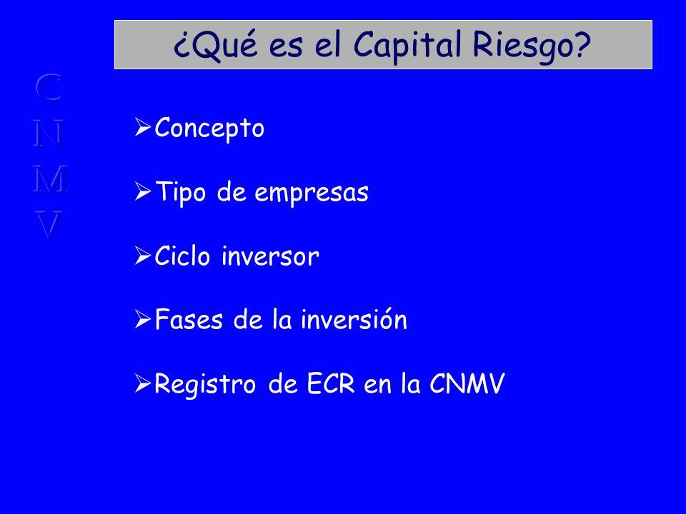 Marco regulador (VIII) Provisión de financiación estable a empresas no cotizadas.