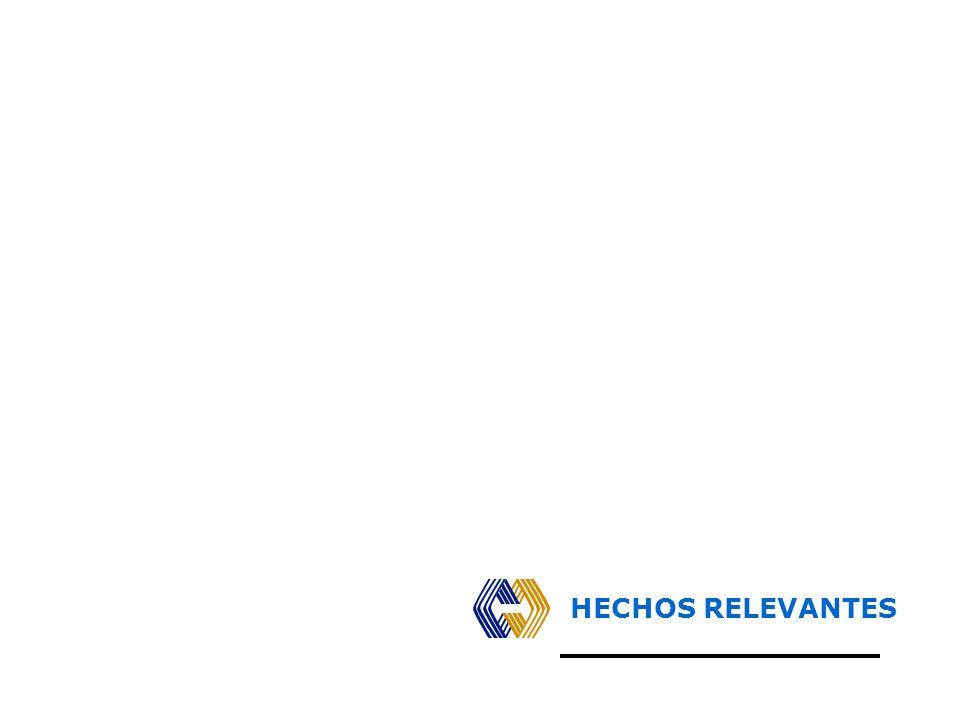 HECHOS RELEVANTES