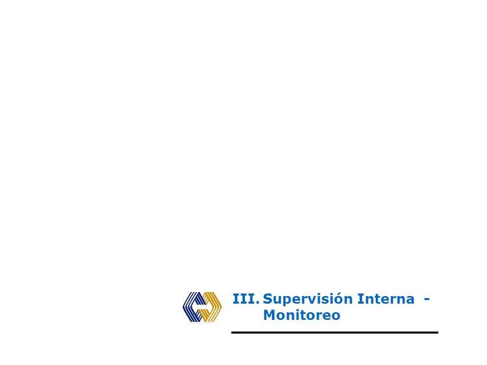 CLASES DE SUPERVISIÓN Examen objetivo, sistemático y profesional de la operaciones financieras y operativas, efectuadas con posterioridad a su ejecuci