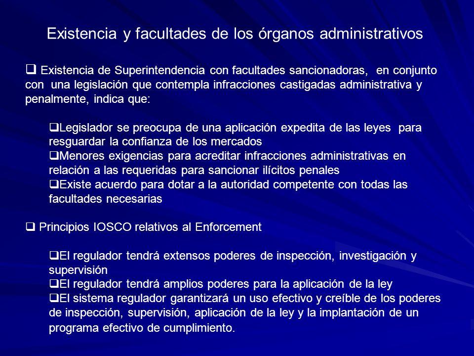 Experiencia Chilena Leyes relacionadas con Abuso de Mercado Ley de Mercado de Valores (18.045), especialmente: Titulo X Responsabilidades Titulo XI Sanciones Titulo XX Responsibilidades de los Administradores de Fondos Titulo XXI Informacion Privilegiada Ley Orgánica SVS (D.L.