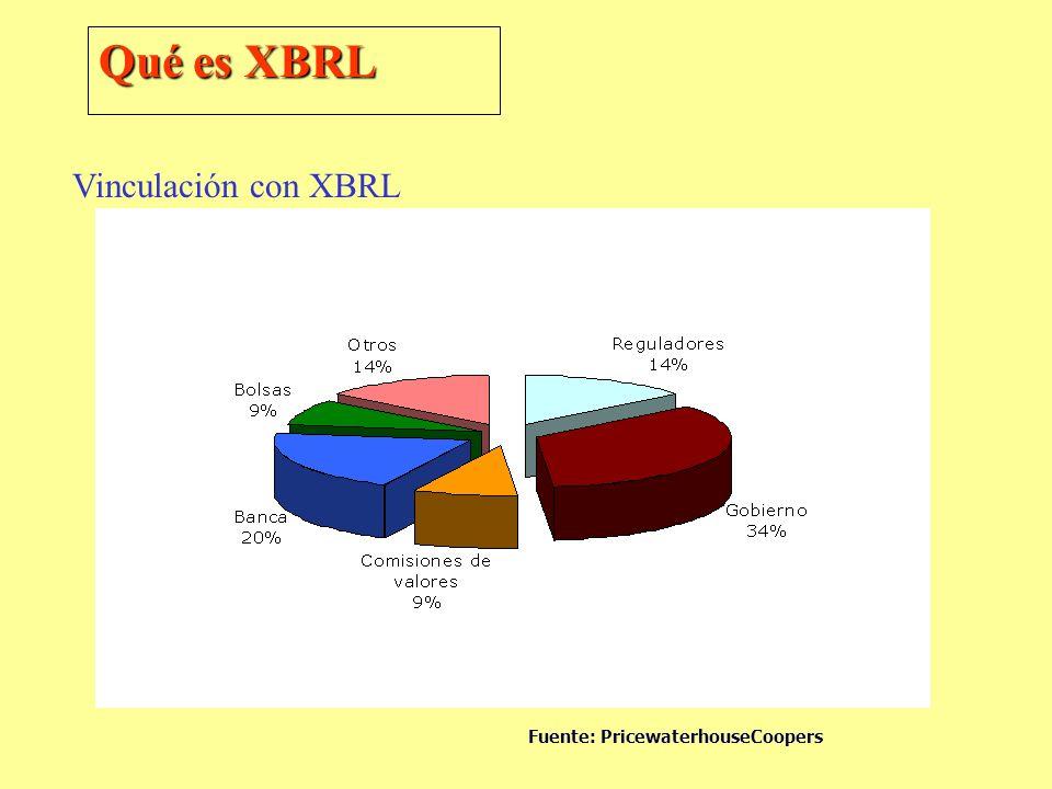 Vinculación con XBRL Fuente: PricewaterhouseCoopers