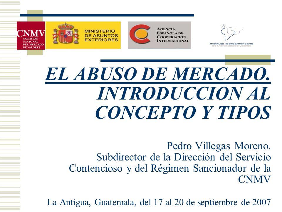 DE CARÁCTER CONCRETO (Articulo 1 del RD 1333/2005).