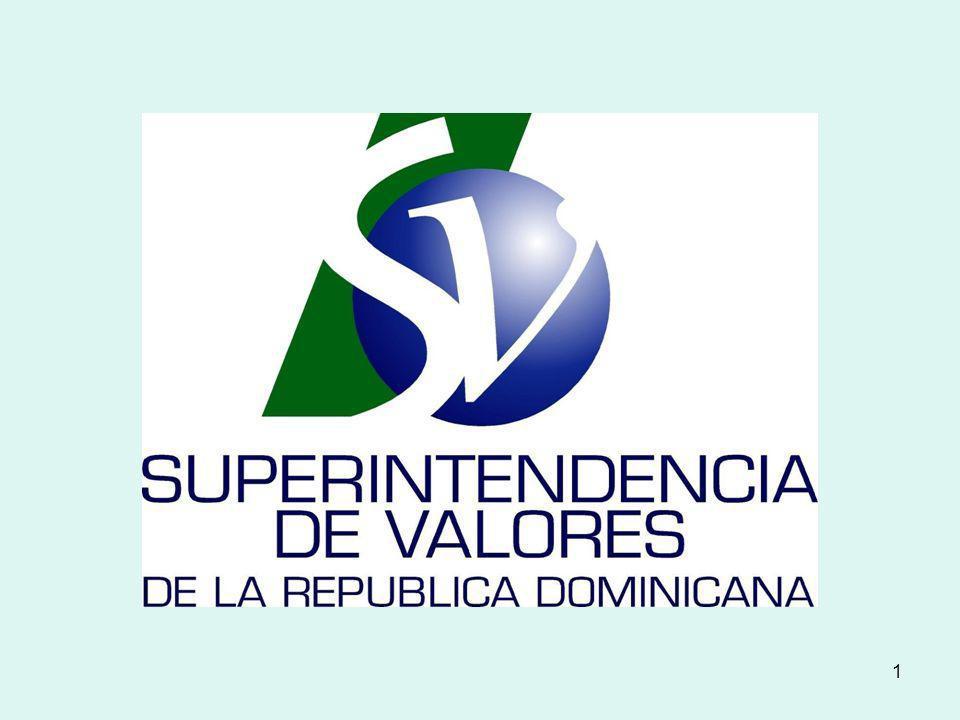 12 Títulos Autorizados a Negociar en la Bolsa de Valores de la República Dominicana Papeles Comerciales Bonos del Estado Certificados de Inversión Acciones