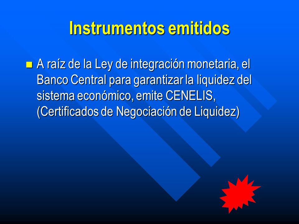 Proceso de negociación No se negocian directamente en sesiones de mercado primario organizado de la bolsa.