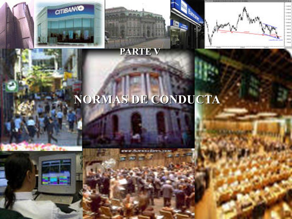 NORMAS DE CONDUCTA PARTE V