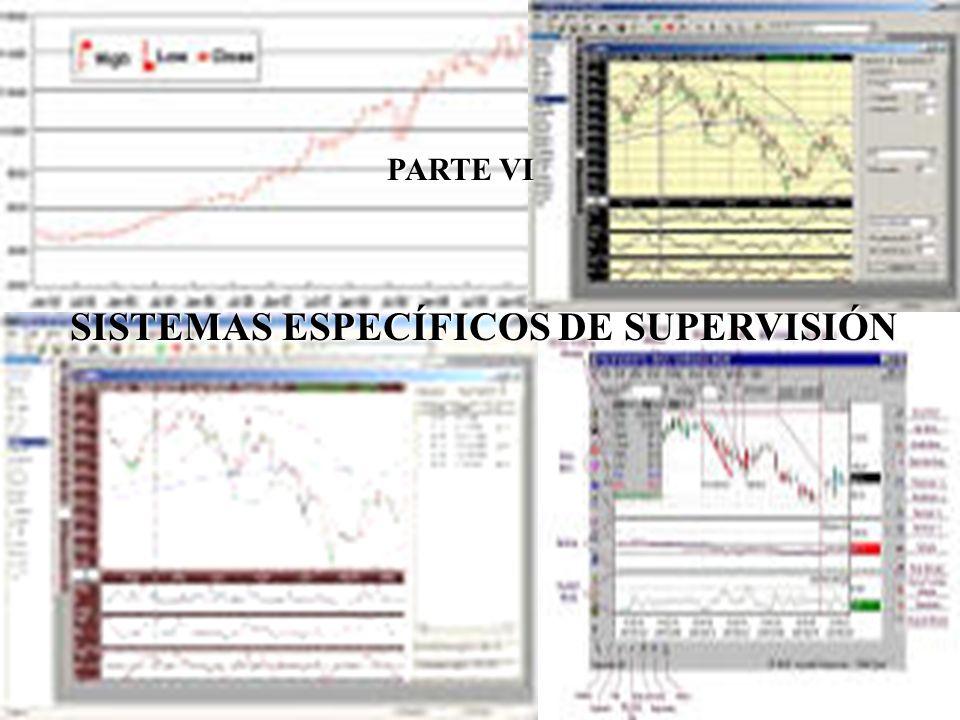 SISTEMAS ESPECÍFICOS DE SUPERVISIÓN PARTE VI