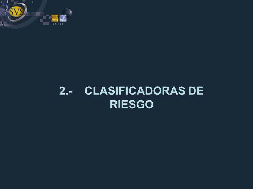 2.-CLASIFICADORAS DE RIESGO