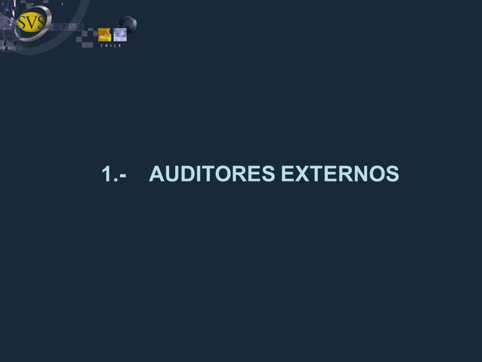 I) CONCEPTO a)¿Qué es la auditoría externa.