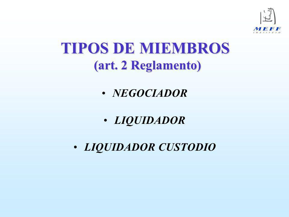 GARANTÍA INICIAL (en euros) MIEMBRO LOD CUSTODIO TOTAL Negociador 0 0 0 Liquidador 240.405 0 240.405 Liq.
